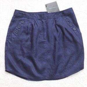 Cynthia Rowley Linen Skirt